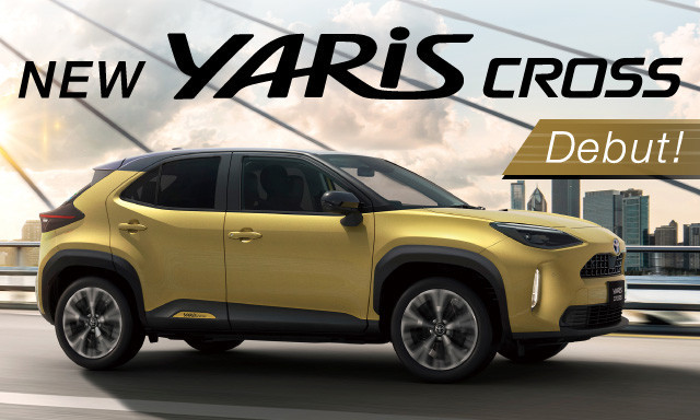 NEW  YARIS CROSS Debut!!
